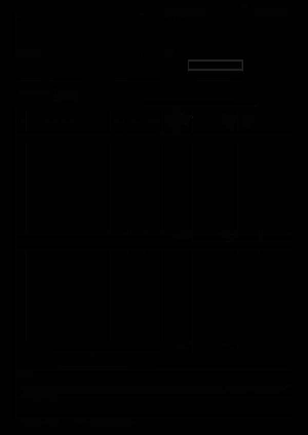 Faktura Korygująca Vat Rr Wwwdrukigofinpl