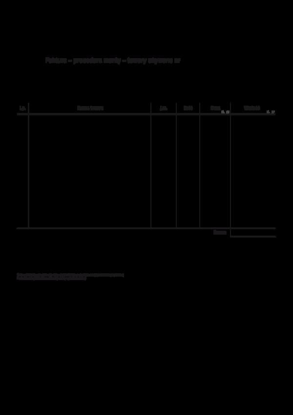 Faktura Procedura Marży Towary Używane Sprzedaż Samochodu